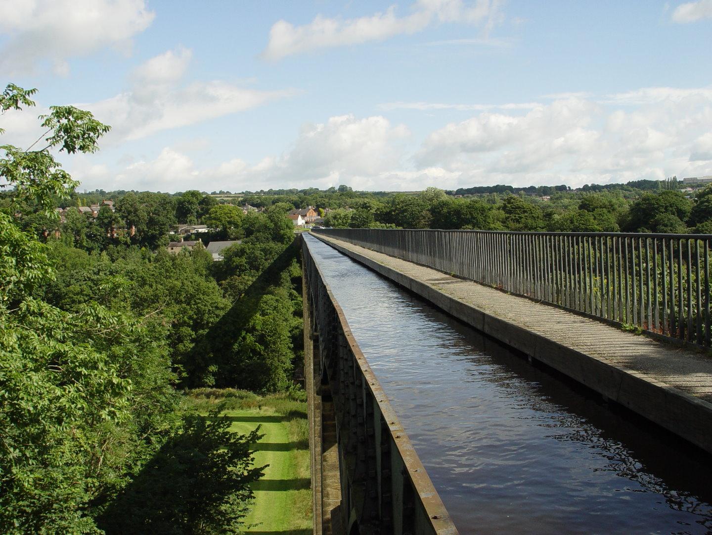 Small Bay Window Pontcysyllte Aqueduct A World Heritage Site